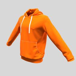 hoody male orange