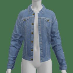 AV2 - Female Jeans Jacket