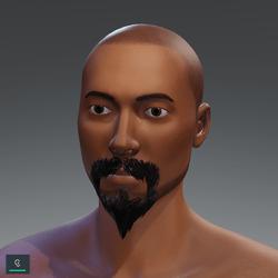 Beak mustache