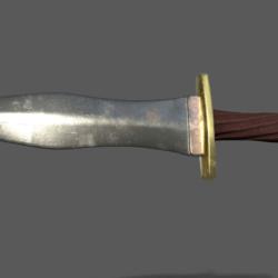 Pugio Dagger (Left Thigh)