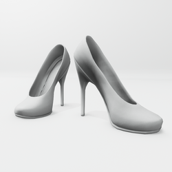 "High heel pumps for ""Alina Daisy highheels"" and ""Nicci"" avatar - white"