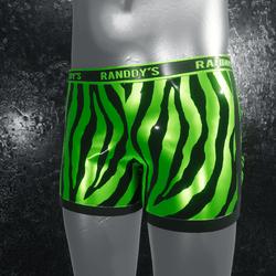 Boxer Briefs Zebra green