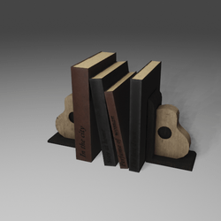 Place books