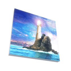 The Light House 3D Artwork Painting