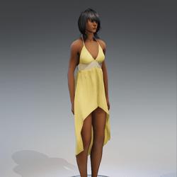 Dress Holly 2.0 yellow