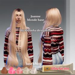 joanne -blonde base