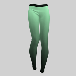 Leggings Maddy Gradient Mint 2.0
