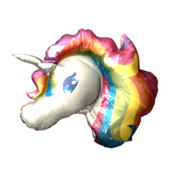 Inflatable Unicorn Head f