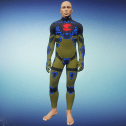 BioArmor ZV01 Body Male Yellow