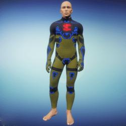 BioArmor ZV01 Body Male Yellow