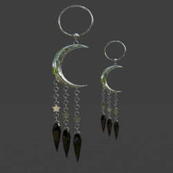 Galaxy Gypsy Earrings 03