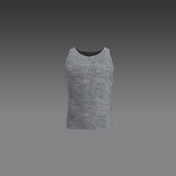 Male Tank Top - Grey (MsAquaria)