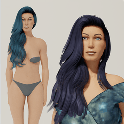 Carol - Curvy Custom Avatar