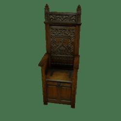 Gothic Style Throne
