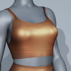 Sport Bra - Brown
