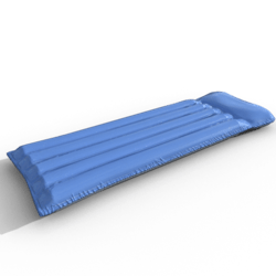inflatable mattress (blue)