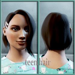 teen hair