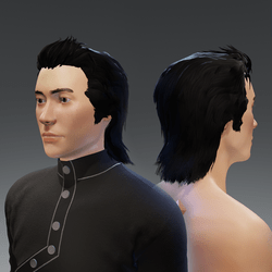 Hair - male avatar