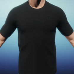 [US] Black T shirt