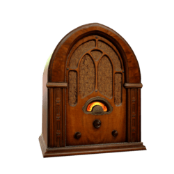Vintage Cathedral Radio