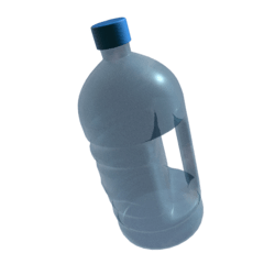 Water Jug /w Transparency (Ring)