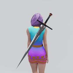 Cross Calibur Sword