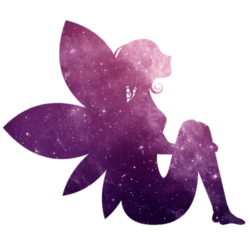 Purple Fairy Wall Decal