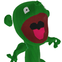 puppet green (updated mouth control)