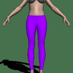Zero Leggings (Purple - goes with Zero Tee)