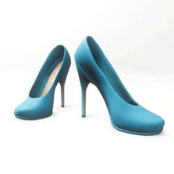 "High heel pumps for ""Alina Daisy highheels"" and ""Nicci"" avatar - light blue"