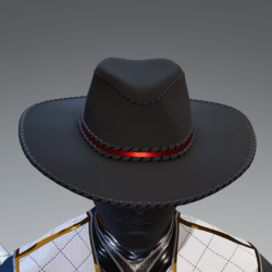 Carbon Fiber Hat 01 (ear slot)