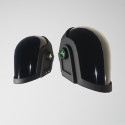 Daft-Punk Helmet Guy (matte black)