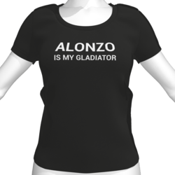 ALONZO IS MY GLADIATOR T-Shirt - Female
