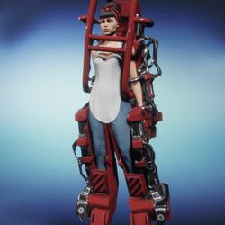 Exo-skel K-82 - RED (female)