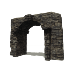 Stone ancient arch
