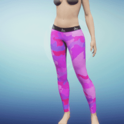 Leggings Camo pink
