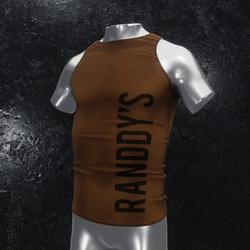Sleeveless Shirt Gift brown