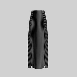 Skirt Briana Stripes Gray 2.0