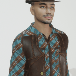 Thomas - Latin Male Avatar