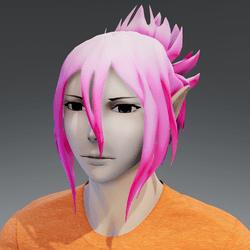 Mukuro hair pink classic