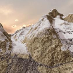 Mt Blanc Terrain
