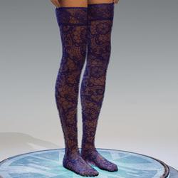 Transparent Stockings Puple