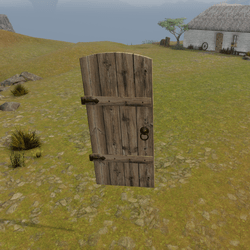 Highland Cottage Kit: Door