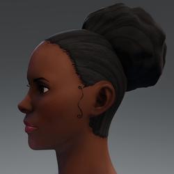 Afro Puff Hair