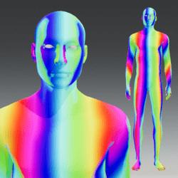 Rainbow male Avatar 2.0