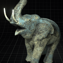 Polygon ~ Elephant Statue