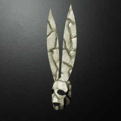 Mr Happy Bunny Mask1