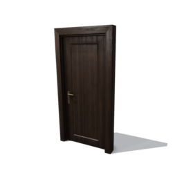 DoorSet B [Fine wood]