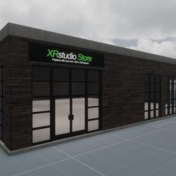 Commercial shop/store building - XRStudio