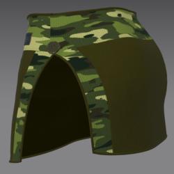 Skirt enri green c